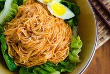 Korean Food: Noodles / Korean noodle dishes