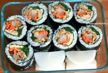 Lunch Box Ideas / Healthy and eye-catching lunch box ideas (mostly Korean and Asian Style)