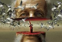 Igor Morski / Igor Morski (b. 1960) Polish graphic designer, illustrator and set designer. Presently, he focuses on mixed media graphic art, based manly on photo manipulation, drawing, recently also 3D. graduated with honors from the Interior Architecture and Industrial Design Faculty at the State Higher School of Fine Art in Poznań (now the University of Arts). He is a winner of many prestigious awards including Communication Arts Excellence Award (2008, 2010) and Applied Arts Award (2010).