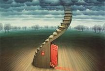 Jacek Yerka / Jacek Yerka - born in Poland in 1952, studied fine art and graphics prior to becoming a full-time artist in 1980. Yerka has won international awards for his art, and has had exhibitions in Warsaw, Dusseldorf, Los Angeles, Paris and London.