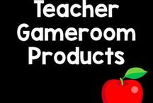 Teacher Gameroom Products / Products including worksheets, powerpoint games, and teacher resources for grades Kindergarten to Sixth Grade. All subjects are covered including the 4 core subjects (Math, Reading, Science, Social Studies). All from the creative mind of Chandra Martin a.k.a Teacher Gameroom and are available in TeachersPayTeachers store.
