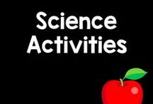 "Science Board / Planets. Weather. Volcanos! Here are some wonderfully awesome science curriculum activities and products that really get your student's asking, ""Why?"""