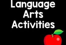 Language Arts Board / Working on beginning sounds? Need a worksheet to practice reading comprehension? Here are some excellent resources to build those language arts skills.