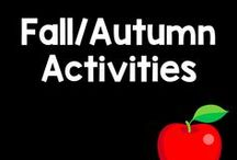 Fall Themed Products / Leaves, acorns, and changing trees! Here are some fall themed games and activities.