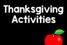 Thanksgiving Board / Teaching the first thanksgiving? Need an activity with turkeys? This board includes ideas, games, and activities to celebrate the Thanksgiving holiday!