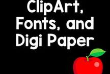 Clip Art, Borders, and Backgrounds / Need school supply clip art? Want some school-themed backgrounds? Here are some awesome clip art, borders, and backgrounds to use in you classroom.