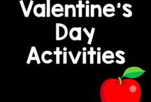 Valentine's Day Board / Pink, red, candy, and hearts! Here are some fantastic activities that your classroom with love!
