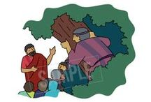 Zacchaeus / Slides from my Bible story PowerPoint presentations. Some of the research that inspired them. Sunday School craft & games Ideas.