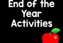 End of the Year / Need a memory book? What a fantastic activity to end the year? Here are some excellent resources to help with the last few days of school.