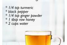Ginger, Garlic & Turmeric / Remedies & Recipes ect.
