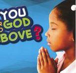 Prayer / Sunday school stuff about prayer.