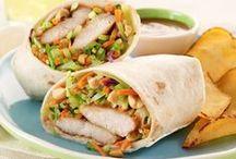 Pitas, Tacos & Wraps / wraps