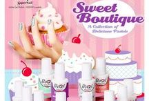 ProGel- Sweet Boutique / A collection of delicious pastels to satisfy any sweet tooth! #supernail #supernailprofessional #supernailprogelpolish #progelpolish #progel #gelpolish #gels #gelmanicure #gelnails #gelmani #manicure #mani #newcollection #nails #ignails #instanails #brightcolors #funnails