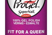 ProGel- Power of the Crown / A collection of elegant, jewel-toned colors make up this prized palette that is fit for a queen. Royal & Rare, Fit for a Queen, Her Majesty, Imperial Knights, Emerald Empress, and Reign of Riches are long-lasting, opulent hues that shine with brilliance! #supernail #supernailprofessional #powerofthecrown #hermajesty #magestic #purple #jeweltoned #shine #brilliance #elegant #progel #gelpolish #gelnails #gels #ignails #instanails #ilovenails #nailswag