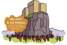 My rock & my fortress / Psalm 18v2