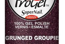 ProGel- Pretty in Punk / Stay up all night and keep it rockin' with ProGel's Pretty In Punk 100% pure gel polish!  #supernail #supernailprofessional #gels #gelnails #nails #instanails #gelpolish #progel #progelpolish