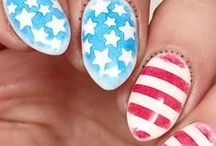 4th of July Nails / Acrylics or Gels, these nails are ready for some SUMMER FUN.