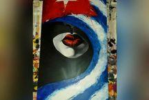 Cubano / Quadri dipinti a mano