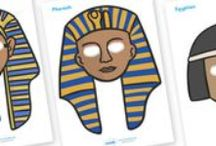Ancient Egypt crafts & games