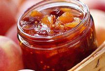 Jams,relishes,chutneys n pickles / All from fruit n veg