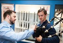 The Bagpipe Shop / The National Piping Centre is the national centre of excellence for bagpipers, and as such top class help is at hand when making purchases from The Bagpipe Shop! Our shop is one of the biggest brand independent bagpipe retailers in the world: www.thebagpipeshop.co.uk