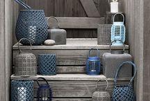 Blue & White & Neutral