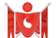 Red Ajah / We are family. We defend and support one another. We take the wearing of the Red shawl deadly seriously, and we love one another with the fierceness of a mother protecting threatened cubs. We define our Ajah anew every day, each with our own take on what it means to be Red at TarValon.Net, but when it matters, we are united, we are one.
