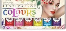 ProGel - Festival of Colour Collection / Live, Laugh, and Play! It's a Festival of Colours with SuperNail® ProGel™ summer collection.  This vibrant palette of 100% pure gel polish features six shades bursting with joy and happiness.  Created for the free-spirited soul, these six new cheerful and festive shades will leave a high shine on your nails and a smile on your face.    #supernail #supernailprofessional #progel #supernailprogel