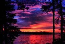 Volcanoes &Sunrises
