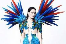 Wearable Art / Outstanding fashion feed. Wearable art, fabric manipulation, origami fashion. Are you a fashion business owner? I challenge fashion achievers to get what they want from their life and create outstanding fashion businesses along the way! Check NOTACOACH.COM #unique #unusual #fashion #style #trands #runway #clothes #designers