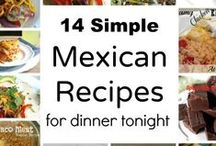 {Mexican Fiesta} / #mexican #food #recipes #dinner