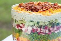 Salads,  Side Dishes, Dips, Sauces and Spices