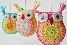 GUFI OWLS  / GUFI CROCHET, OWLS, BUHOS,