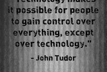 Tech, tech and tech.