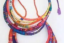 šperky textilní
