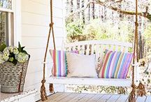 O U T D O O R - L I V I N G / Have the best summer ever with these DIY and decor tips for your patio and backyard!