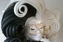 Foam wigs by LM Foam Studio / Foam wigs for halloween, carnival, theme party, cosplay or any other fun event