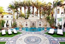 My Home / All about Gianni Versace's Home and Versace's furniture