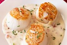 Seafood.