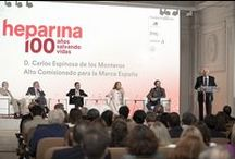 """2016: Centenary of the discovery of Heparin / Bioibérica's history has always been linked to heparin, an antithrombic and anticoagulant drug, that was declared an """"essential drug"""" by the World Health Organization (WHO). This year we are celebrating the centennial of its discovery. Spain is a worldwide leader in the production of heparin and in the research of new uses for this drug.   More information: https://www.bioiberica.com/human-health/heparin/2016-centenary-of-the-discovery-of-heparin/"""