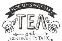 """A Good Cuppa / """"You can never get a cup of tea large enough or a book long enough to suit me.""""  ― C.S. Lewis"""