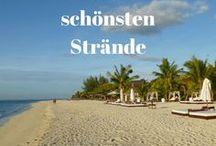 Die schönsten Strände / Die schönsten Strände auf der ganzen Welt #strand #urlaub #strände