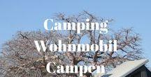 Camping - Wohnmobil - Campen / Camping ist deine Leidenschaft? Du wolltest schon immer mit dem Wohnmobil unterwegs sein? Auf dieser Pinnwand sammle ich die besten Reisetipps.