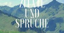 Zitate und Sprüche / Zitate und Spüche