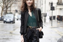 STREET STYLE / show you how to create a classic street look / by Ashley Han