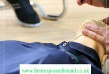 First Response (First Aid) Ltd / If you'd like to find out more about how you could help someone in an emergency, why not book onto one of our highly-acclaimed first aid courses?  We have courses every week in Walsall. Wolverhampton, Warwickshire and Leicestershire.  Or if there's a group of you, we can come to you.  For more information please call our friendly and helpful team today, on 01543 372888