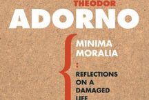 Theodor adorno / Sociologist