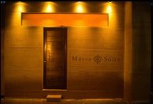 """Massa Suite / 'Massa' is an Arabic word that means """"to touch, to feel or handle"""". The brief was to introduce patrons to the ancient art of beauty to a new level."""