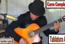 Curso de guitarra / Curso de guitarra para principiantes y avanzados con pasos rápidos y fáciles de entender totalmente gratis,Con vídeos tablaturas pdf y mucho mas  Web:  www.cursoguitarra.net