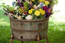 FLOWERS Planters/Arrangements / A Variety of Ideas